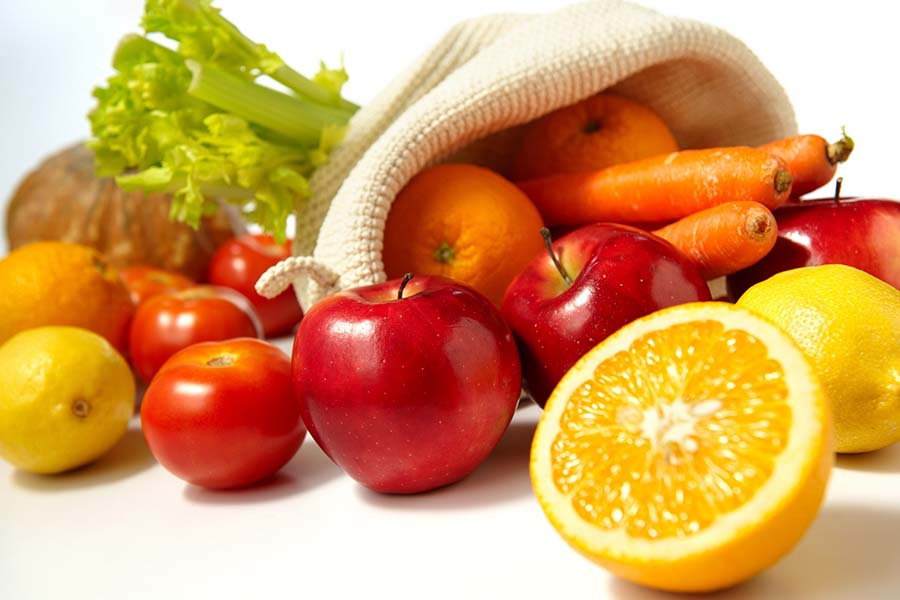3- Fruit and Vegetable Diet
