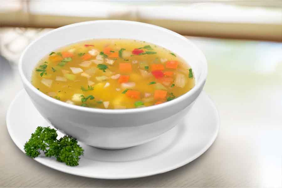 6- vegetable soup